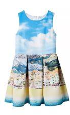 Target Girls Dress Size 10 New Blue Beach Formal Bnwt $49