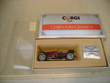 1985 MADE IN GREAT BRITAIN CORGI C861/2 BROWN 1927 3-LITRE BENTLEY MIB
