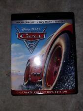 Disney Pixar Cars 3 | 4K Ultra HD + Blu-ray | No Digital