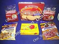Mexican Sweet Treats Serenatas con Cajeta Obleas Mazapan Caramels Natillas LOT
