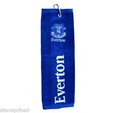 EVERTON FC TRI FOLD GOLF TOWEL. BNWT