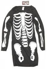 Halloween ladies Women Skeleton Costume Dress Size 6-8 Mummy Fancy Dress