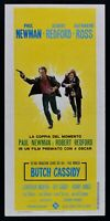 Cartel Butch Cassidy Paul Newman Robert Redford Katharine Ross G. Roy L43