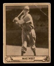 1940 Play Ball Max West #57 GD