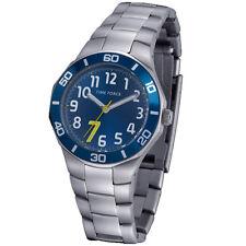 TIME FORCE TF-3386B03M RELOJ CADETE  ACERO 50M COLECCION CHRISTIANO RONALDO