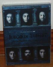JUEGO DE TRONOS-GAME OF THRONES-6º TEMPORADA COMPLETA-5 DVD-NUEVO-SEALED-NEW