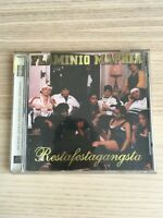 Flaminio Maphia - Restafestagangsta - CD Album PROMO - 1997 - Near Mint RARO!