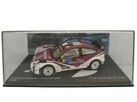 1/43 FORD FOCUS RS 07 WRC 2008 RALLY RALLYE COCHE METAL ESCALA SCALE DIECAST