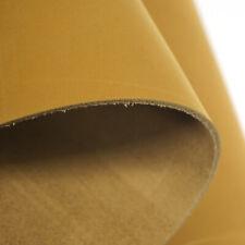 Gold Matte texture Genuine Leather Square DIY Craft Cowhide For Handbag Wallet