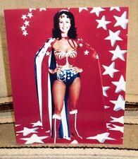 "Wonder Woman ""Lynda Carter"" Color Movie Poster Tabletop Display Standee 10"" Tall"