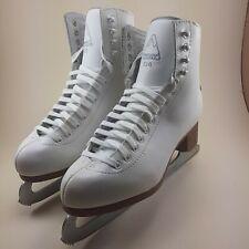 Jackson Ultima white figure skates. Woman's size 9. Never used. Box damaged