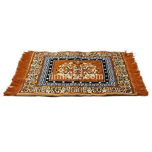 """24x24"""" Handmade Reversible Door Mat Living Room Floor Door Stop Pray Carpet Rug"""