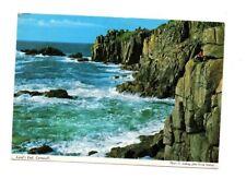 Cornwall - Land's End - Postcard Franked 1966