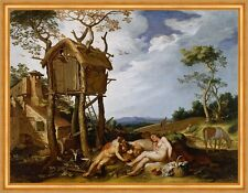 Parable of the wheat and the Tares Abraham Bloemaert Baumhaus Gesù B a1 00183