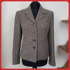 be31b43aaa799 Smart and Classic ALEXON Tweed Wool Blend Jacket Size UK 10 Varicoloured  Brown