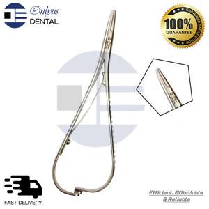 Mathieu Needle Holder Ligature Forceps Orthodontic Instrument Dental Suture 14CM