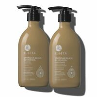 Luseta Jamaican Black Castor Oil Shampoo & Conditioner Set for Fine and Dry Hair