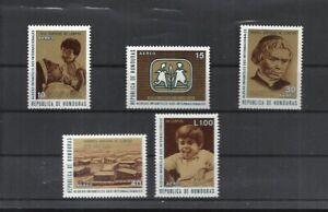 Honduras 1972  #C520-24, Cpl Set / Mint Never Hinged: SCV $3.40