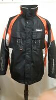 GMC Mens Winter Jacket/Coat Choko Orange & Black Multi Pocket Size Large EUC