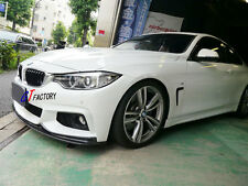 NEW FOR BMW F32 F33 F36 M TECH M SPORT ONLY CARBON FRONT LIP SPOILER 3D STYLE