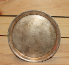 Vintage Russian silver plated dish