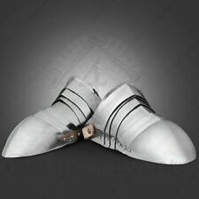 Collectible Medieval Steel Shoes-Medieval Costume-Gothic Knight Armor Shoes S80