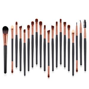Eyes Make up Brushes Set Eye shadow Blusher Face Powder Foundation Brush 20PCS