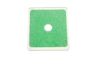 Kood P Größe Rechteckig Filter 84mm Grün Mitte Punkt Klar für Cokin P