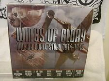 WINGS OF GLORY THE AIR FORCE STORY 1914-1945 SEVEN VHS SEALED NEVER USED SET 96
