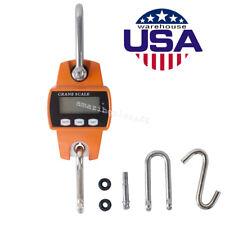 Digital 300KG/660LBS Crane Scale / Industrial Hook Hanging Weight Crane Scale CE