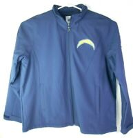 NFL Team Apparel Chargers All Season Jacket Men XL NFL Winter Lined Coat BLUE