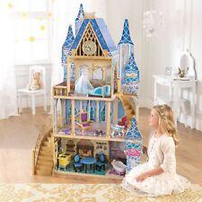 Kidkraft Disney Princess Cinderella Royal Dreams Dollhouse 11piece 65400 HVI