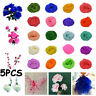 5Pcs Multicolor Handmade Wreath Party Nylon Stocking Artificial Flower Material