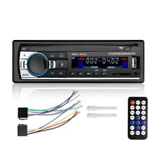 Coche Bluetooth Estéreo FM AUX Coche Radio Reproductor de MP3 Microphone USB SD