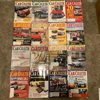 29 Back Issues of Car Collector Magazine 2000-2003