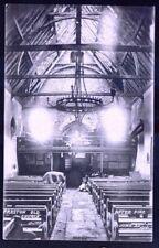 Preston Village, Brighton: Church After Fire, June 1906. Vintage Postcard