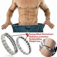 Männer Frauen Stahl Therapie Energie Magnetic Armband Gesundheitswesen Mode