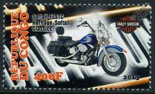 Harley Davidson FLSTC Softail Heritage Classic Motorbike Bike Motorcycle Stamp
