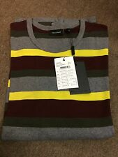 Matinique Striped Long Sleeve Jersey Tee - Extra Large