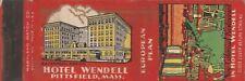 Matchbook Hotel Wendell & New Colonial Restaurant Pittsfield Massachusetts