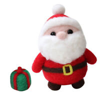DIY Felt Making Kit Christmas Santa Claus Wool Needle Felt Starter Kit Decor