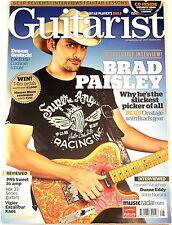 GUITARIST MAGAZINE Summer 2010 Brad Paisley PRS VOX Vigier Excalibur T-Rex AER
