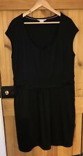 New Without Tags Boden Dress Size 20 Black Jersey Pockets