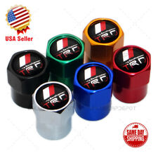 Hex Trd Logo Emblem Car Wheels Tire Air Valve Caps Stem Dust Cover Sport Limited