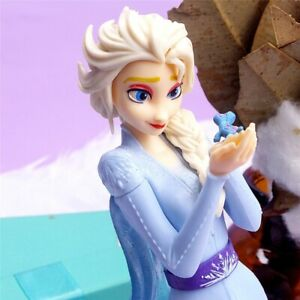 Frozen 2 Princess Elsa Limited Action Figure Disney Toy PVC Model Doll Girl Gift