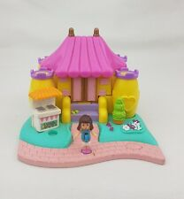 vintage polly pocket Bouncy Castle  1995 Bluebird toy , Doll Excellent Condition
