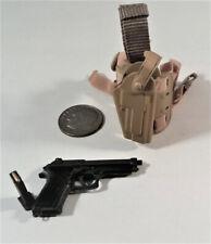 Toys City USAF CCT HALO pistol & holster 1/6 Soldier bbi joe Dam art DID dragon