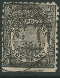 Fiji SG77 1894 1d black Used