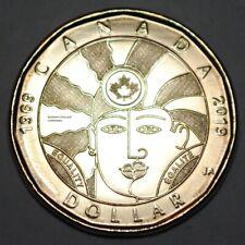 Canada 2019 Equality BU 1 Dollar Canadian Loonie from mint roll