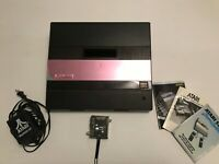 Untested Atari 5200 2-Port Console w/ Original Pink Cellophane RF Power Inserts